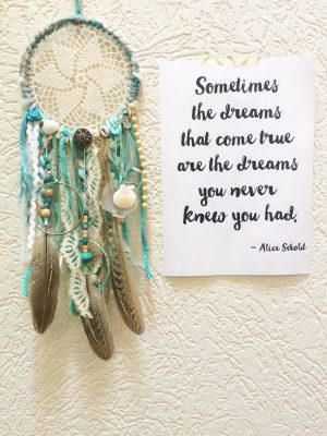 zeegroene dromenvanger