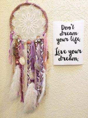 lila dromenvanger