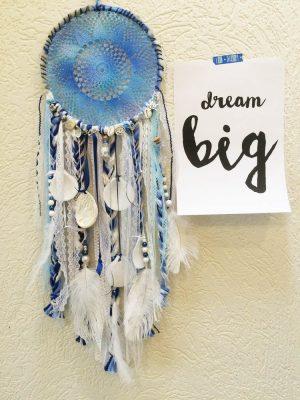 blauwe dromenvanger