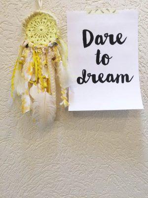 gele dromenvanger