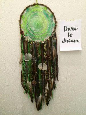 groen bruine dromenvanger