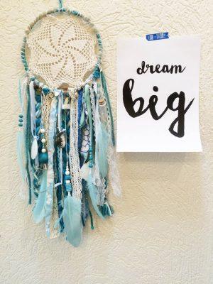 lichtblauwe dromenvanger