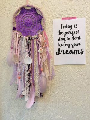 paarse dromenvanger