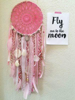 roze dromenvanger